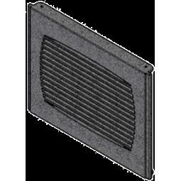 Grille de sortie d'air chaud en fonte pour poêle RED 413009006V