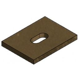 Panneau supérieur vermiculite 4D115157020