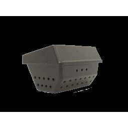 Vue droite Brasero (appelé aussi panier perforé, creuset, cendrier, pot de combustion ) en fonte pour vos poêles RED by MCZ