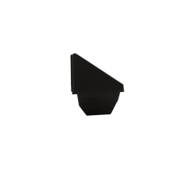 Vue de droite Brasero (aussi appelé Creuset, Cendrier ou Panier perforé) pour poêle RED by MCZ
