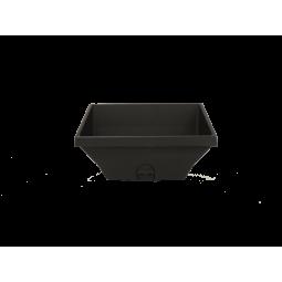 Vue arrière Brasero (aussi appelé Creuset, Cendrier ou Panier perforé) pour poêle RED by MCZ